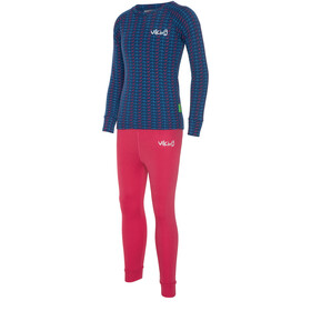 Viking Europe Nino Ondergoed Set Kinderen, fuchsia navy